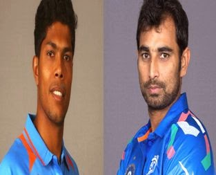 mohammed shami and umesh yadav images