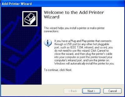 printer sharing windows