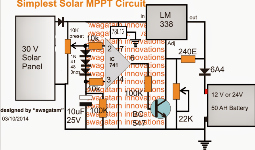 Homemade Solar Mppt Circuit Maximum further Simple 220v Smps Buck Converter Circuit also  on mppt circuit using lm317 ic