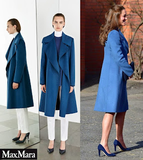 MaxMara Sportmax Pre-Fall 2014 Coat Kate Middleton Style