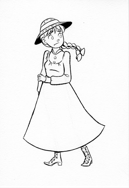 Sophie Hatter, Howl's Moving Castle, Studio Ghibli, Sophie fanart