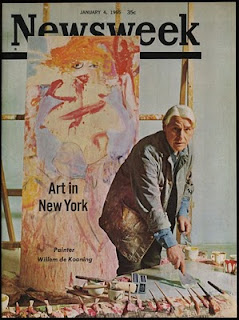 Willem de Kooning on the cover of Newsweek 1965