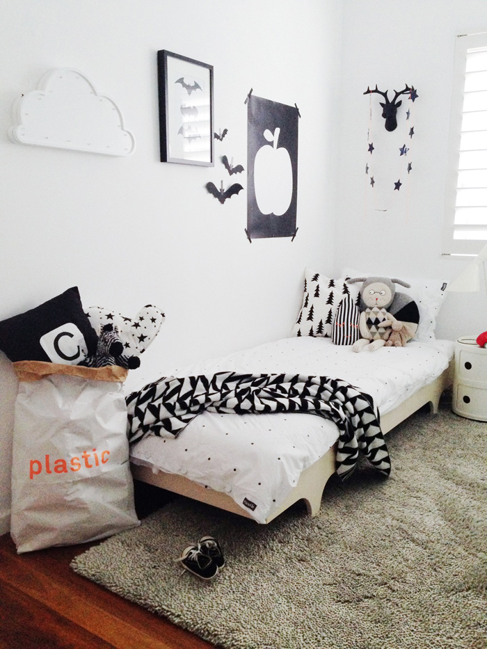 A teen bed rafa-kids in child room in Australia
