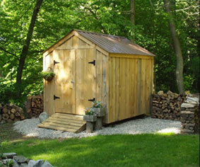 a storage shed is a light weight structure frequently built from wood in a backyard utilized as a storeroom for equipment cars or handy items and is - Garden Shed Plans