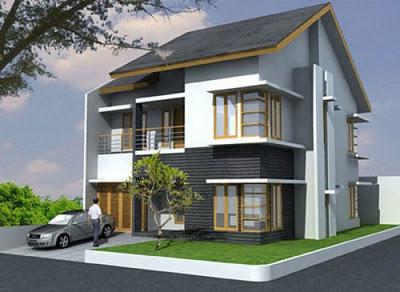 desain rumah minimalis modern type 90