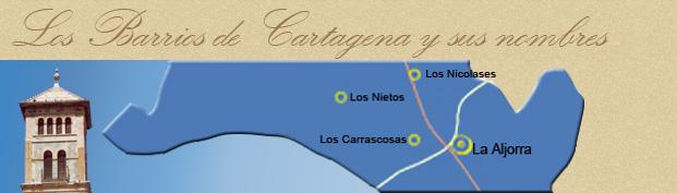 Los barrios de Cartagena y sus nombres