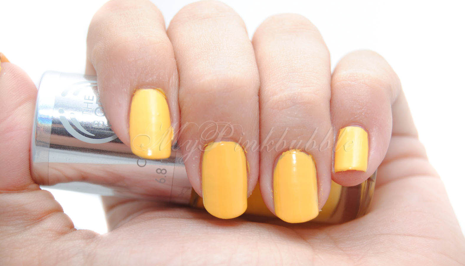 Body shop Colour Crush Sunny Affair swatch