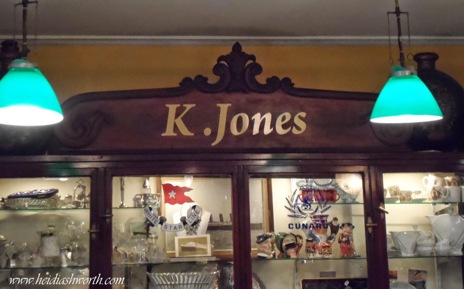 K Jones Kinsale thou  Kirsten Jones