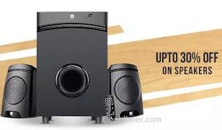 Speakers Extra upto 25% Cashback