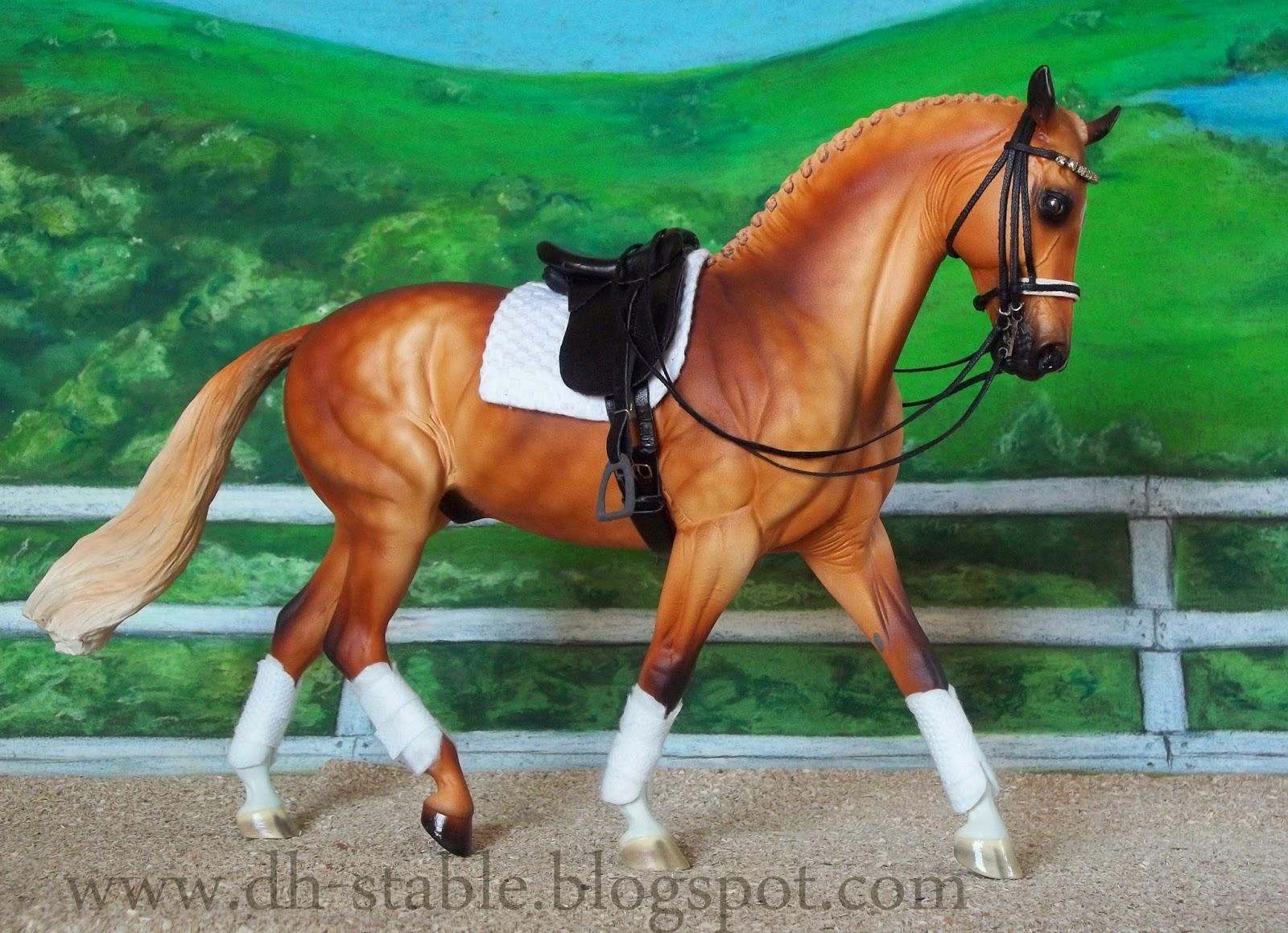 Schleich Collecta Breyer Horse four bridles  no horses