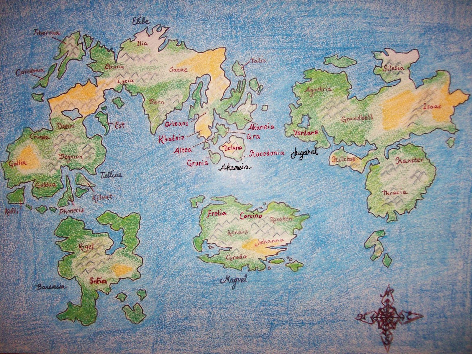 The Wanderer: Fantasy Cartography