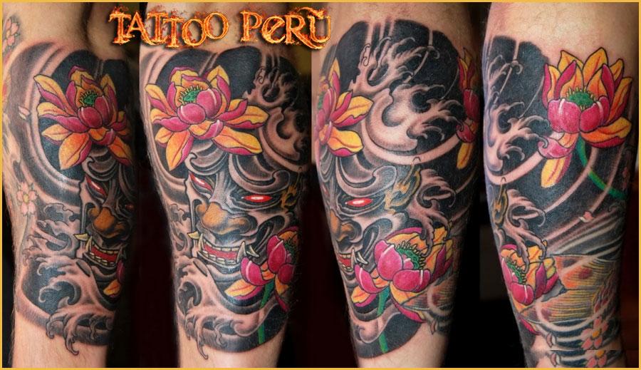 Tatuajes: Historia de los Tatuajes. Diablos_japoneses