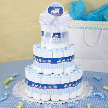 How To Make A Cute Diaper Cake