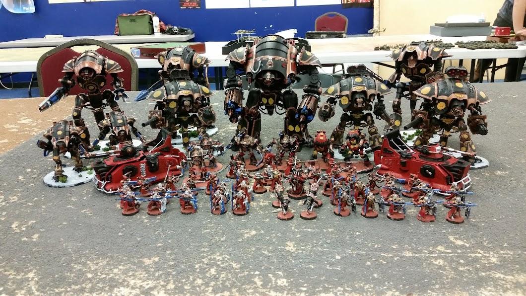 Imperial Knights, Astra Militarum and Adeptus Mechanicus