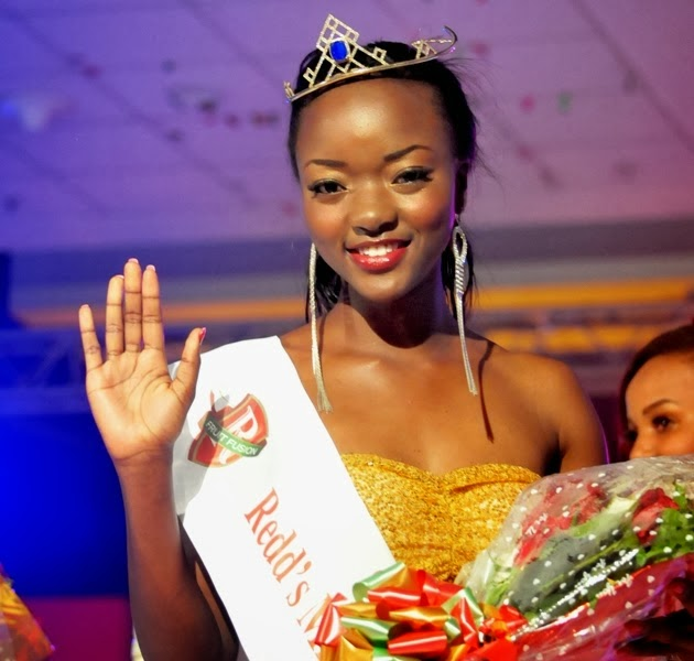 Miss Tanzania 2013 winner Happiness Watimanywa