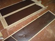 Las vigas de puro chocolate (algunas de más de 100 kilos) que se moldearán . miramar huevo de pascuas mar web