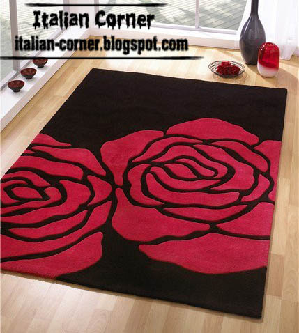 Italian Flower Carpets Models   Italy Flower Rugs Designs