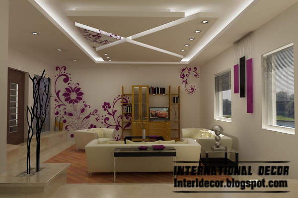 modern pop false ceiling designs for bedroom interior suspended gypsum
