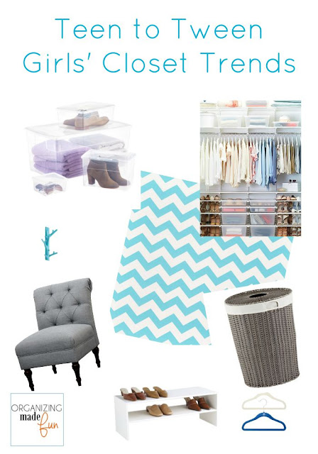 Teen and Tween Girls' Closet Trends :: OrganizingMadeFun.com