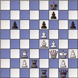 Partida de ajedrez Carbó Batlle vs. Marín i Llovet, posición después de 41…Rf8??