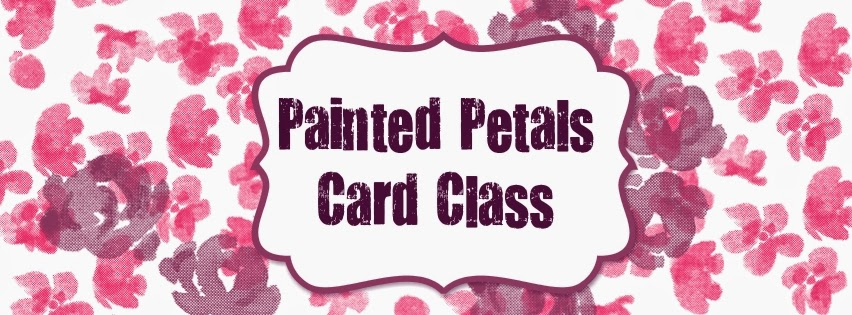 Painted Petals by Stampin' Up! UK - check out this class with this set