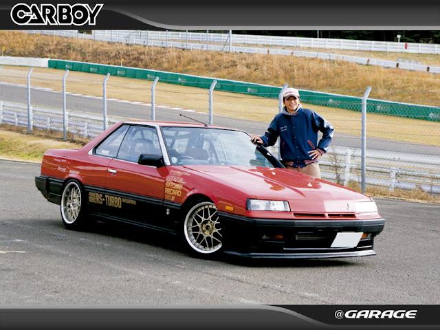 Nissan Skyline, R30, japoński sportowy samochód, lata 80, RWD, coupe 日本車 日産 スカイライン