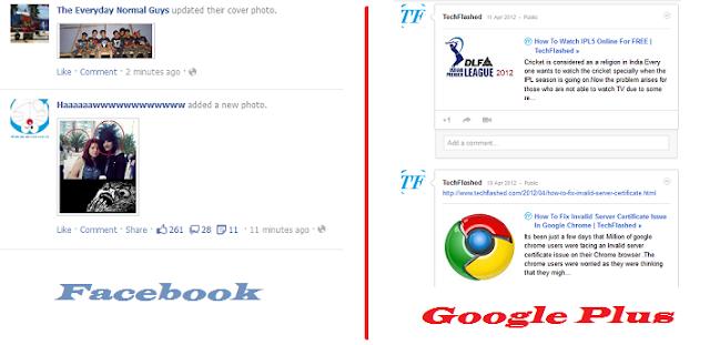 Google Plus Continues To Copy Facebook