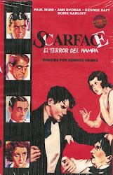 Scarface, el terror del Hampa (Paul Muni, Boris Karloff)