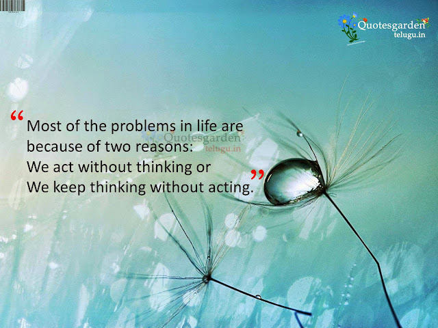Quotes about problems in life and attitude with problem