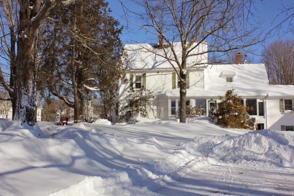 White Cedar Inn snow