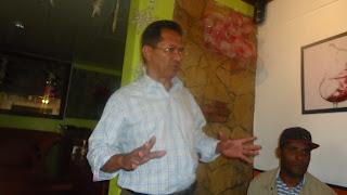 Ex- alcalde Julio César Domínguez Montás sostiene encuentro con la prensa