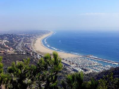 Castelldefels beach near Barcelona