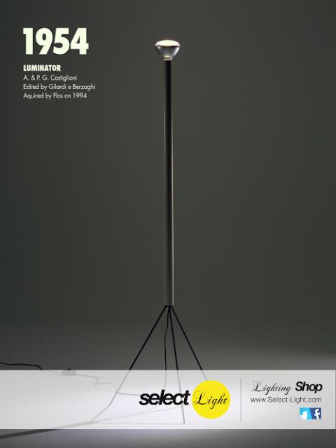 Luminator by Pier Giacomo Castiglioni & Achille Castiglioni