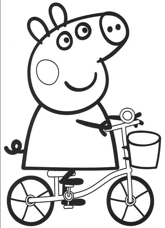 Robe da cartoon clicca stampa e colora peppa pig