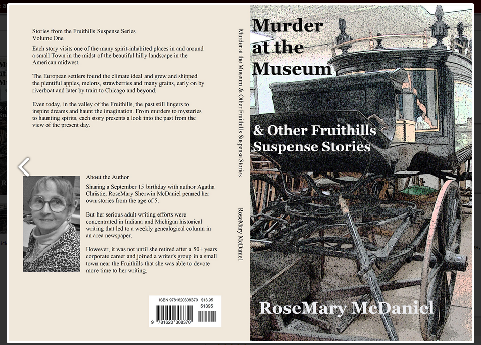 Murder at the Museum & Other Fruithills Suspense Stories Paperback