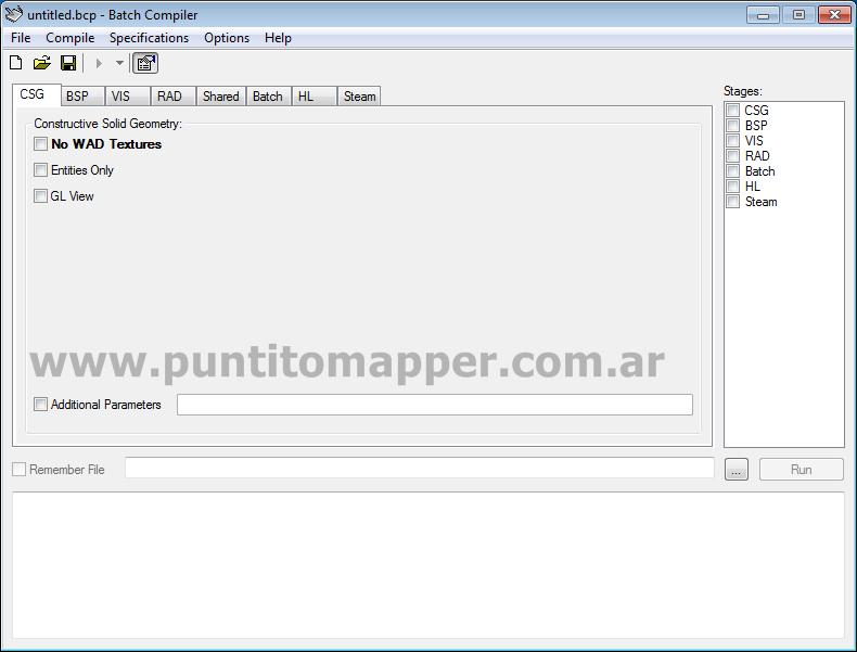Configurar Batch Compiler