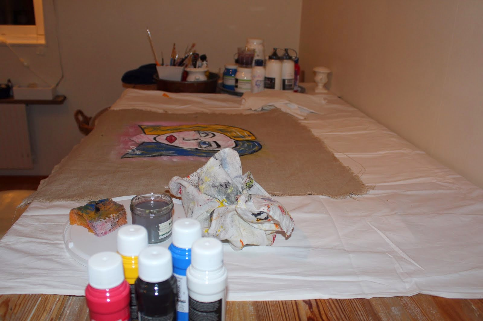 I mitt målarrum