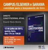 Elsevier promove lançamento do livro Direito Constitucional Atual