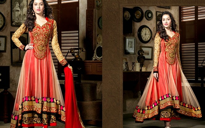 Floor Length Anarkali Dresses