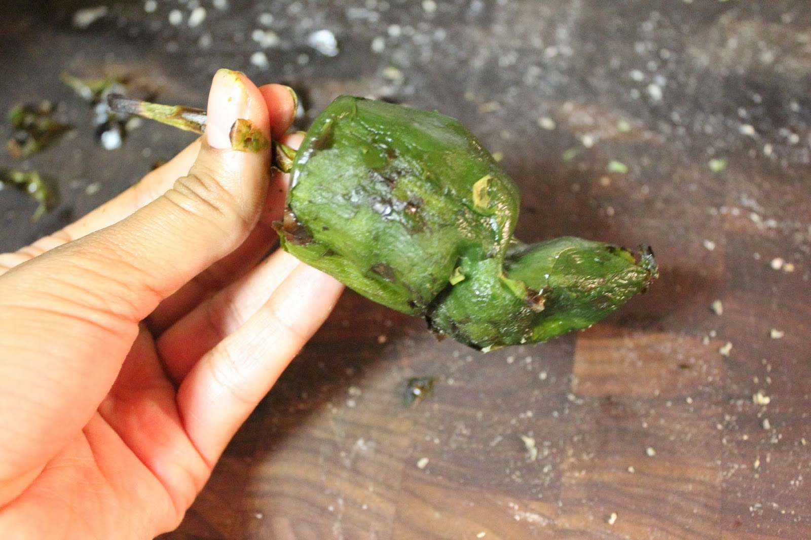 How to Roast and Peel Peppers | Runaway Apricot