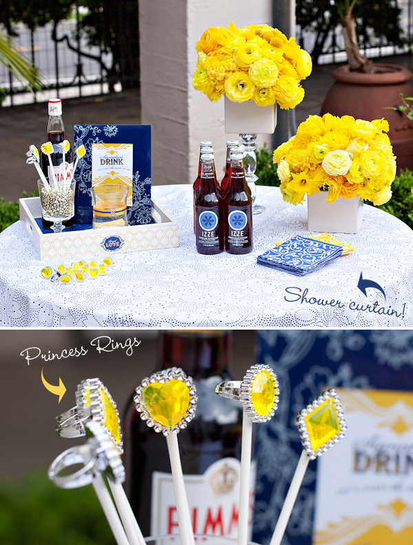 Navy Blue And Yellow Wedding Party. luxury nautical inspired wedding ...