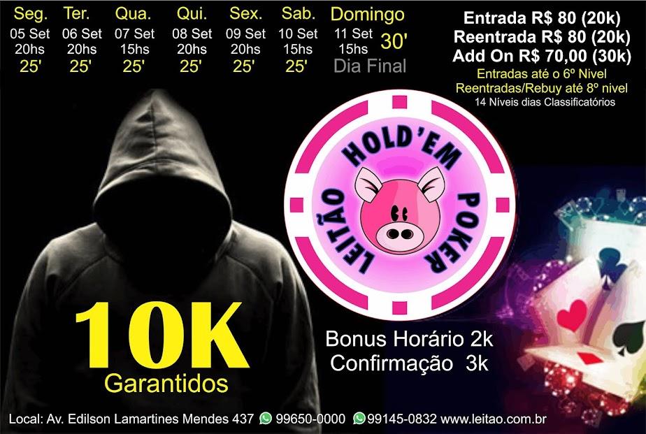 TORNEIO 10K GARANTIDO