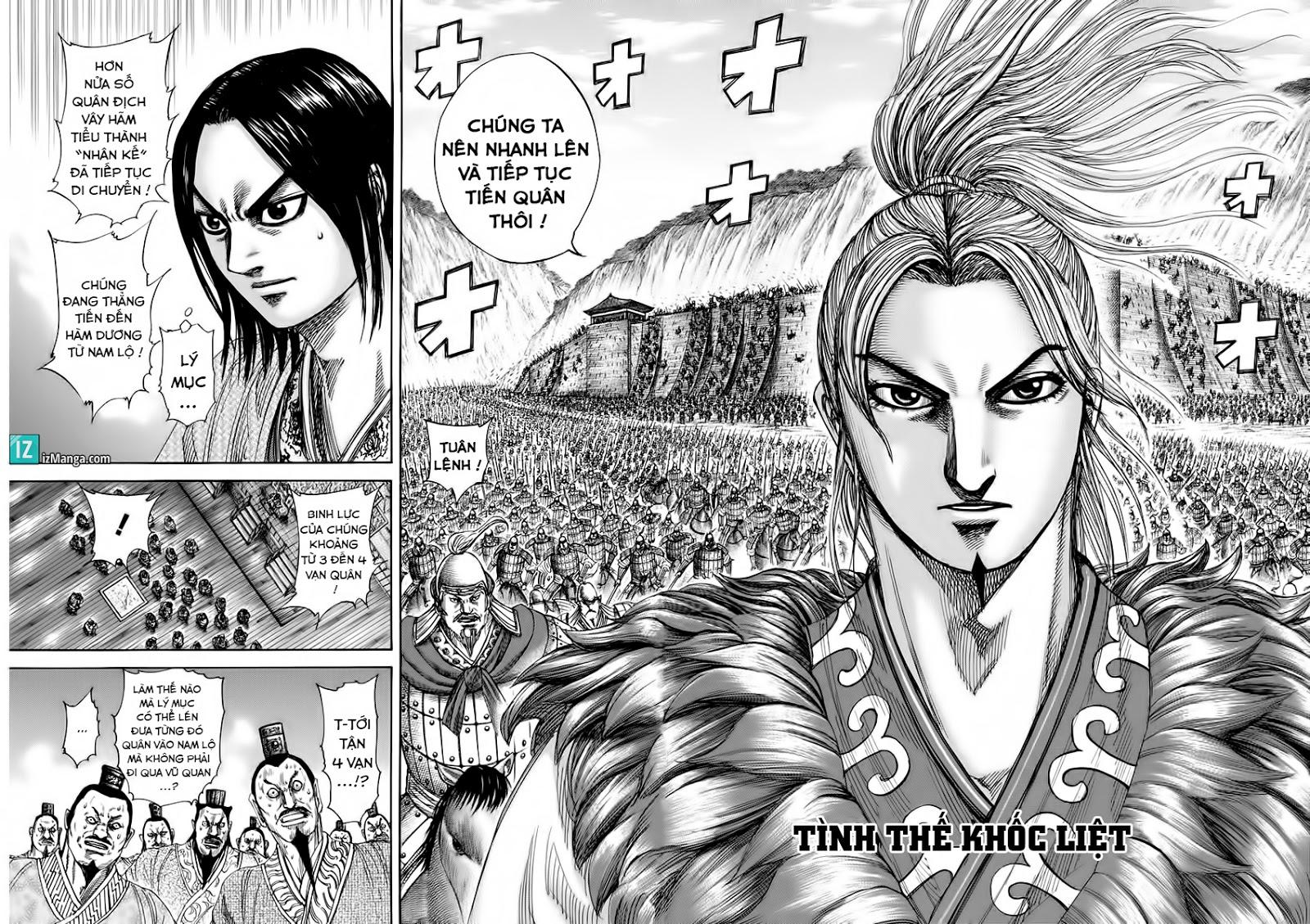 Kingdom – Vương Giả Thiên Hạ (Tổng Hợp) chap 321 page 3 - IZTruyenTranh.com