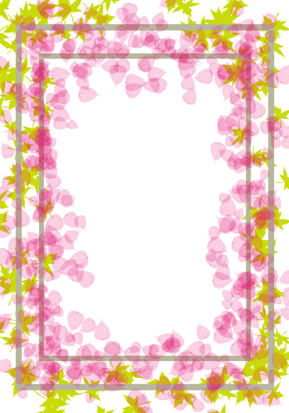 Http://caratulatrabajo.blogspot.com/2014/05/femenino-hojas-rosadas-y ...