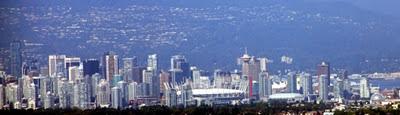 Skyline von Vancouver Teill zwei