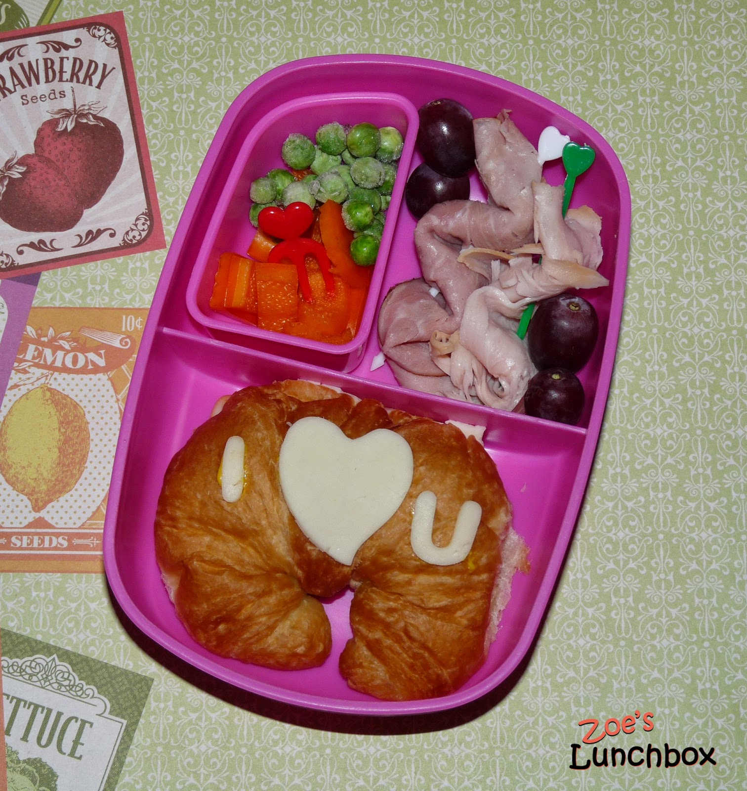 Kindergarten bento lunch