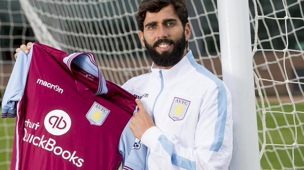 Aston Villa Resmi Datangkan Jose Angel Crespo