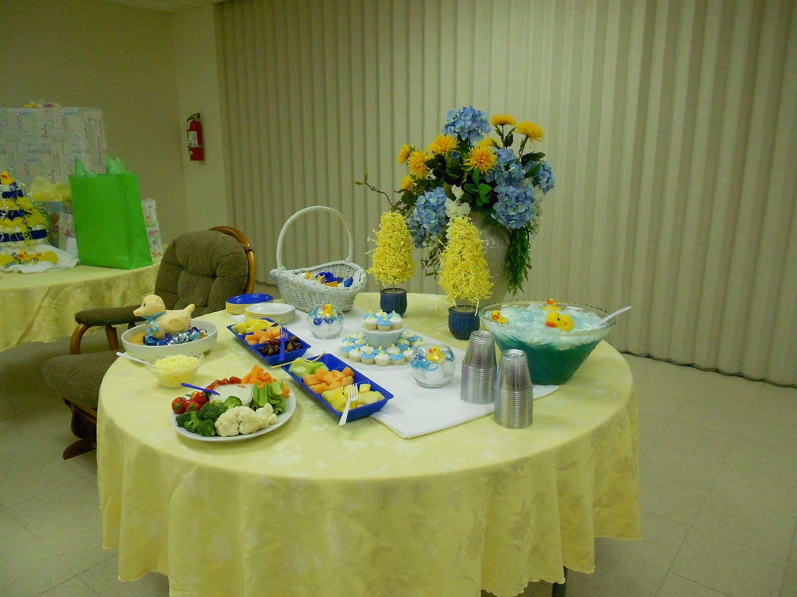 The Frakes 5 Ducky Baby Shower