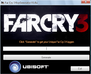 Far Cry 3 keygen free december
