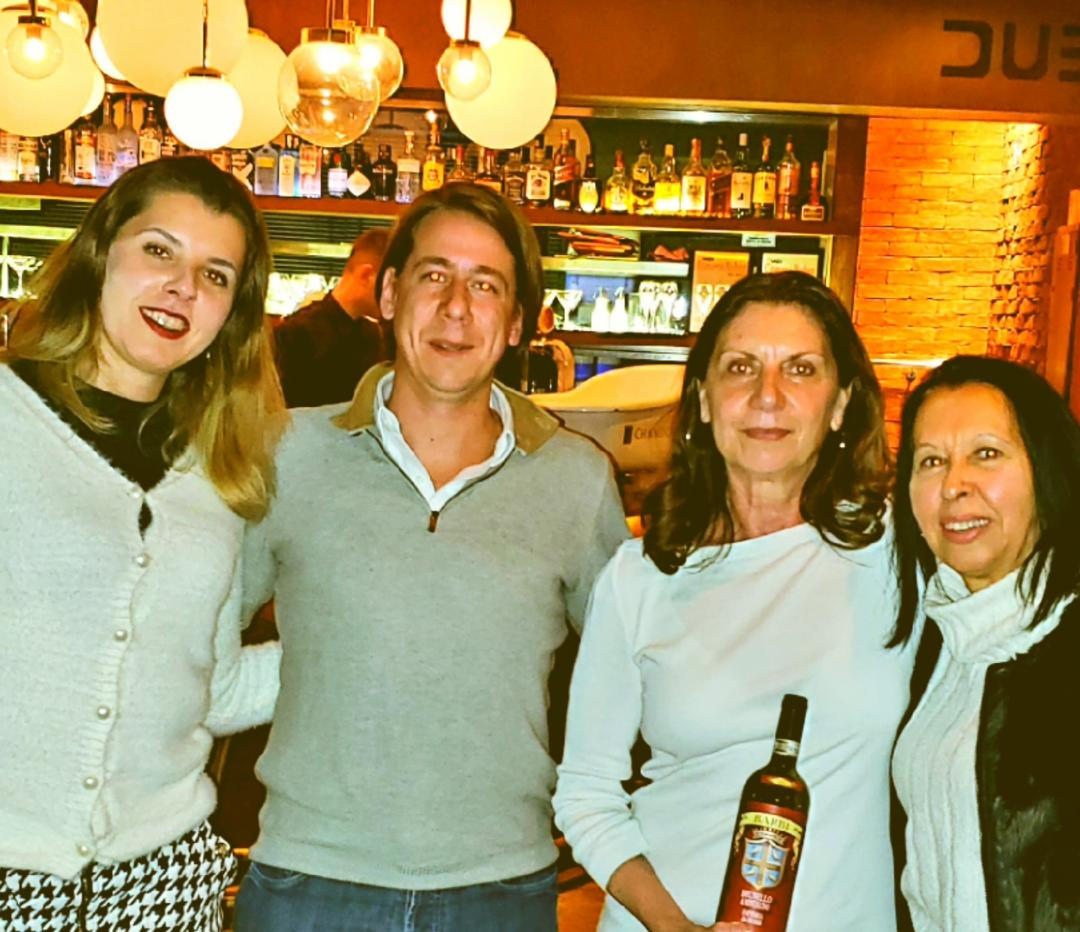 Momento Presidente da Importadora Interfood João Cury  e Fattoria dei Barbi com Raffaella Guidi